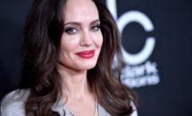Angelina Jolie a atras toate privirile in aceasta rochie. A renuntat la sutien si...