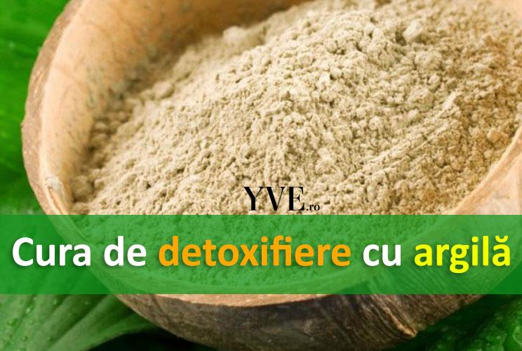 Cura de detoxifiere cu argila