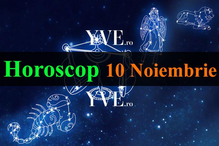 Horoscop 10 Noiembrie 2018