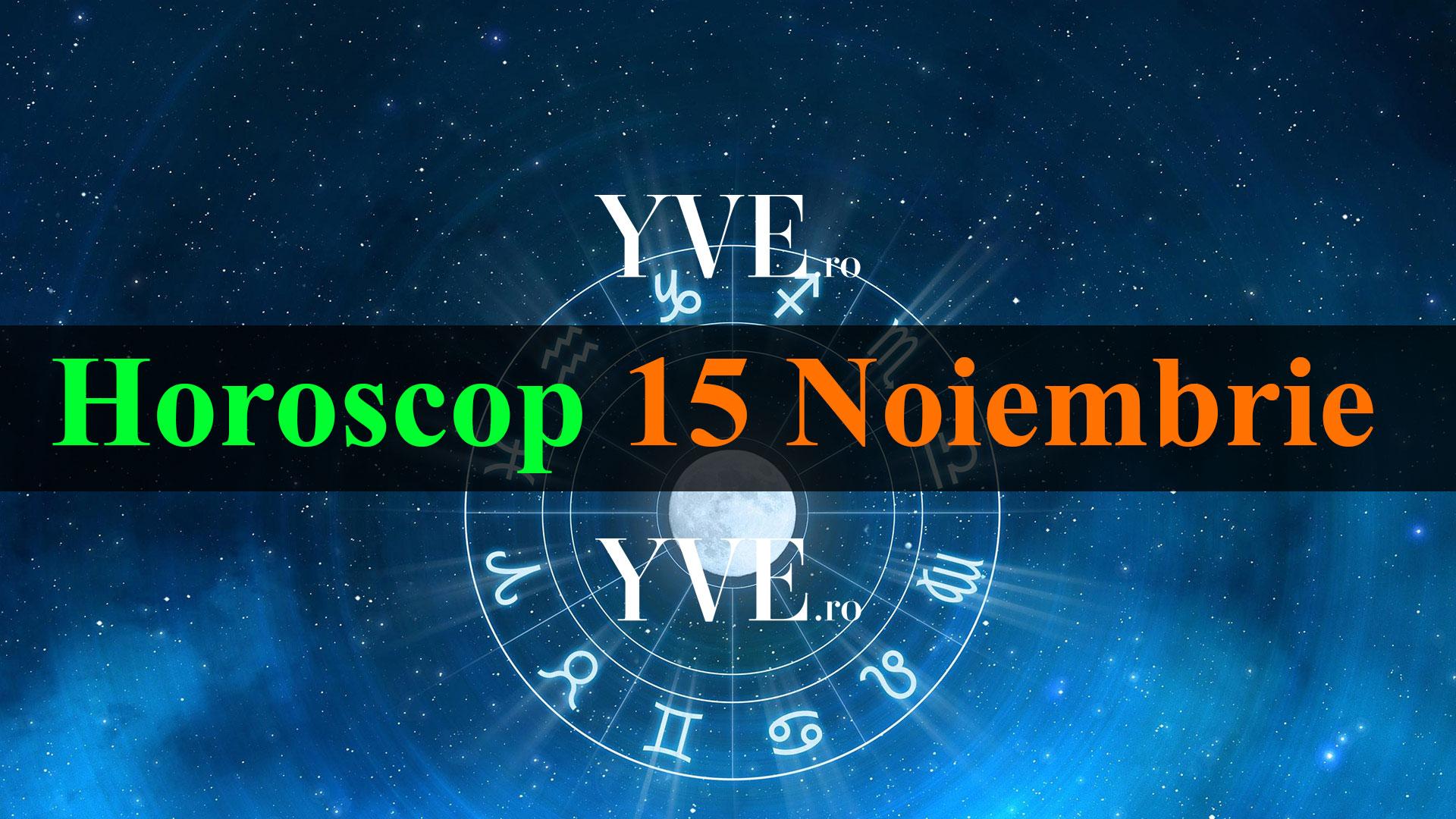 Horoscop zilnic 15 Noiembrie 2019