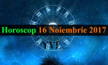 Horoscop 16 Noiembrie 2017: Este o zi bună pentru carieră