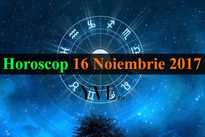 Horoscop 16 Noiembrie 2017