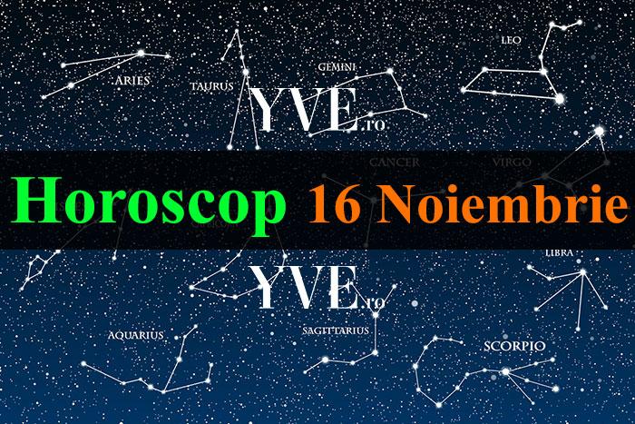 Horoscop zilnic 16 Noiembrie 2019