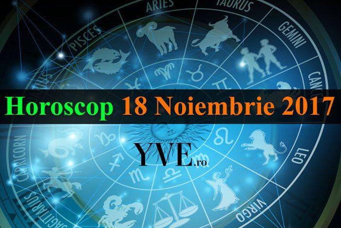 Horoscop 18 Noiembrie 2017