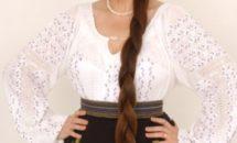 Iată secretul părului lung și strălucitor al Mariei Dragomiroiu!