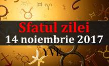 Sfatul zilei 14 noiembrie 2017: Taurii și Săgetătorii sunt sfătuiți să facă eforturi