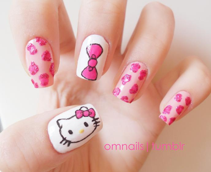 manichiura Hello Kitty