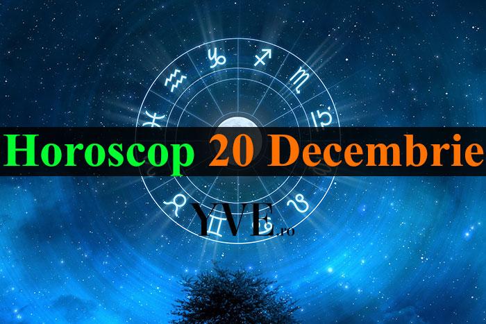 Horoscop 20 Decembrie 2018