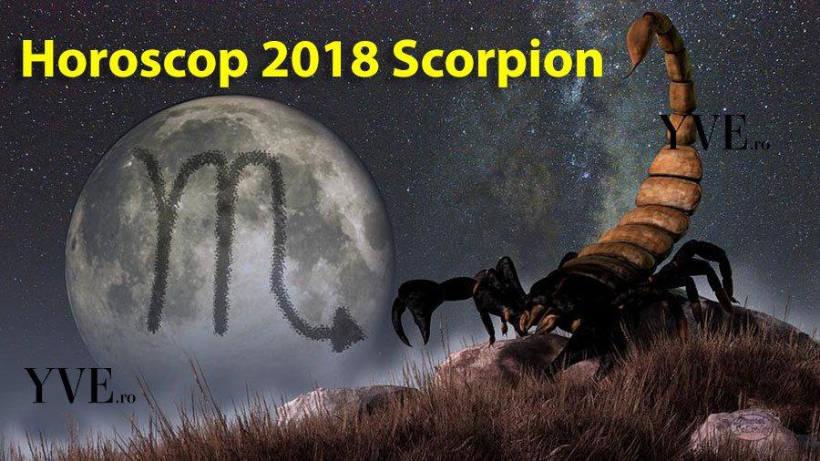 Horoscop 2018 Scorpion