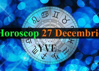 Horoscop 27 Decembrie 2018