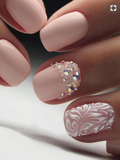 modele de unghii pentru mirese 6