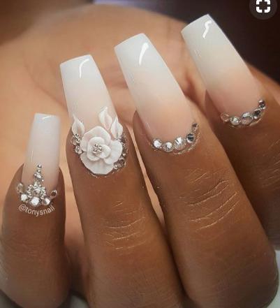 modele de unghii pentru mirese 8