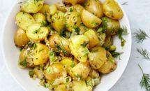 Salata de cartofi cu marar si chimen