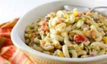 Salata de legume cu paste si naut
