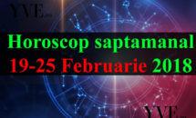 Horoscop saptamanal 19-25 Februarie 2018