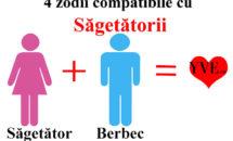 4 zodii compatibile cu Sagetatorii
