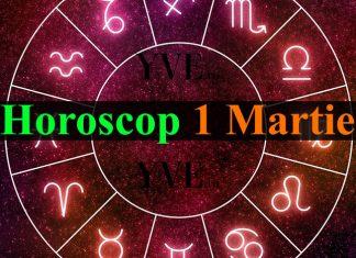 Horoscop 1 Martie 2019