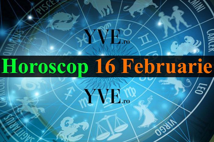 Horoscop 16 Februarie 2019