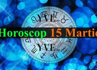 Horoscop 15 Martie 2019
