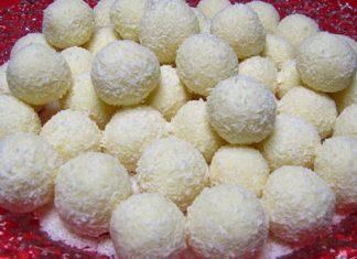 Cea mai buna reteta de bomboane Raffaello de casa! Presupune doar de cinci ingrediente