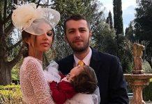 Fotografii siropoase de la petrecerea de 1 anisor a fetitei Madalinei Ghenea si a lui Matei Stratan