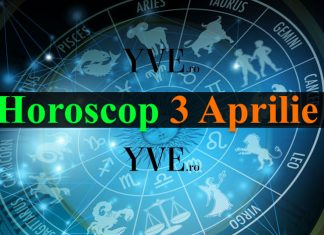 Horoscop 3 Aprilie