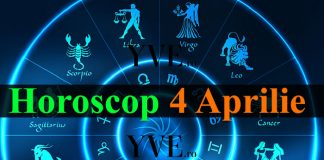 Horoscop 4 Aprilie