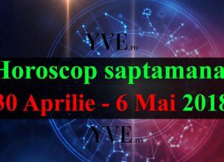 Horoscop saptamanal 30 Aprilie - 6 Mai 2018