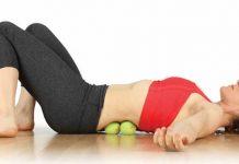 Invata cum iti poti trata durerile de spate cu o minge de tenis