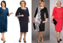 Modele de rochii de ocazie pentru femei de peste 50 de ani