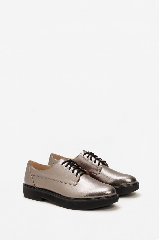 Pantofii argintii