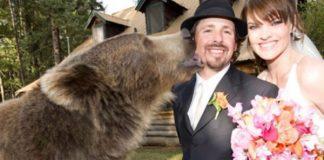 """Povestea uluitoare dintre un urs grizzly si un adolescent""""Mi-a fost pana si cavaler de onoare la nunta"""""""