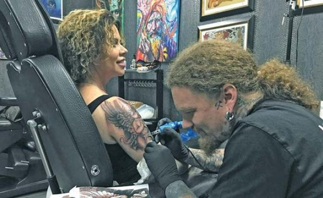 Reactia neasteptata a lui David Puscas cand a auzit ca Luminita si-a facut tatuaj cu chipul celuilalt copil