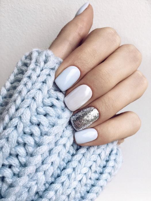 unghii simple iarna