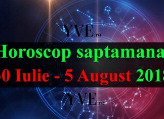 Horoscop saptamanal 30 Iulie - 5 August 2018