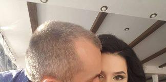 "Ionut ""Pitbull"" Atodiresei isi tine fetita in brate! Iata prima fotografie cu micuta Iris Selena"