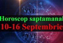 Horoscop săptămânal 10-16 Septembrie
