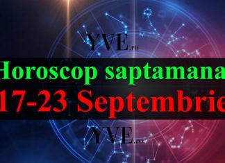 Horoscop săptămânal 17-23 Septembrie