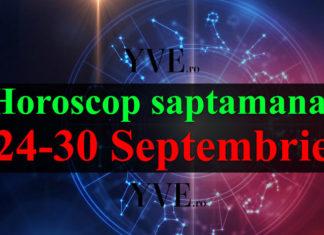 Horoscop saptamanal 24-30 Septembrie
