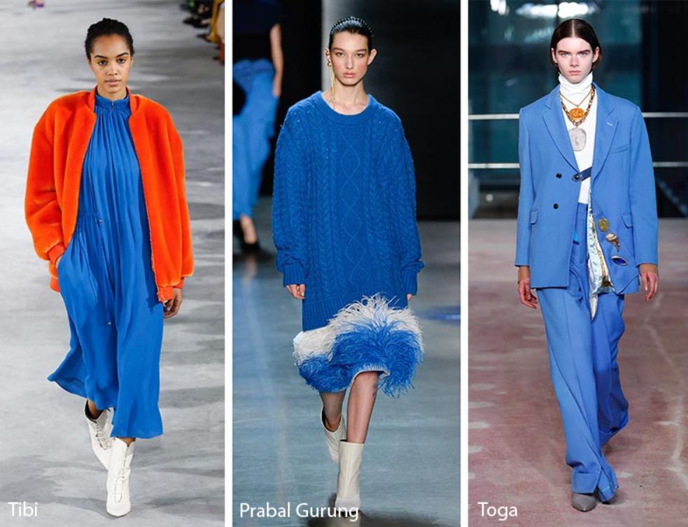 Albastru marin culoarea anului 2019