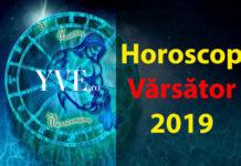 Horoscop Vărsător 2019