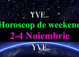 Horoscop de weekend 2-4 Noiembrie 2018
