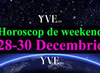 Horoscop de weekend 28-30 Decembrie 2018