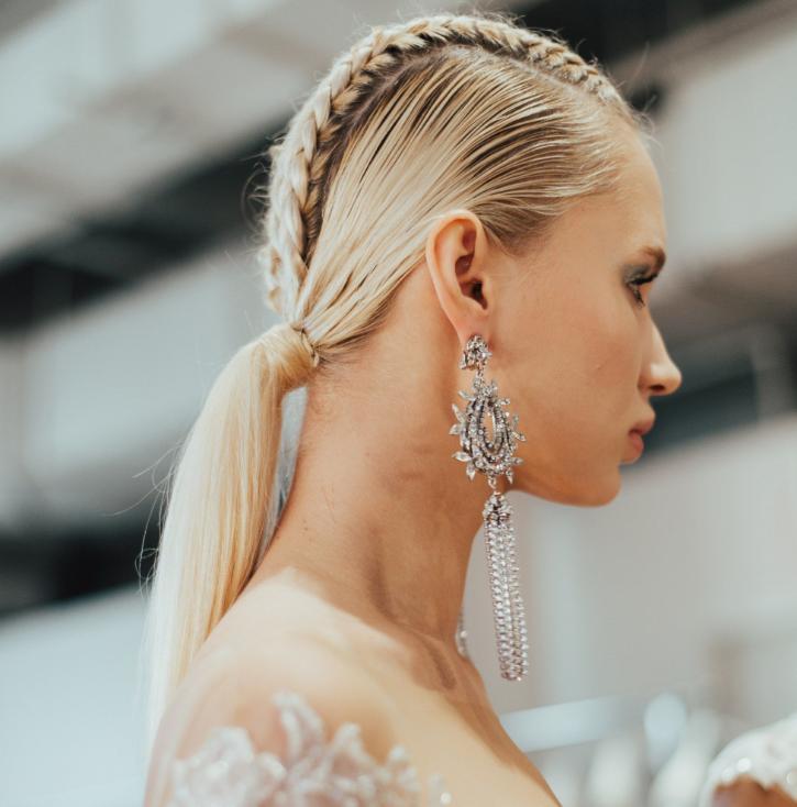 coafura eleganta nunta 2019