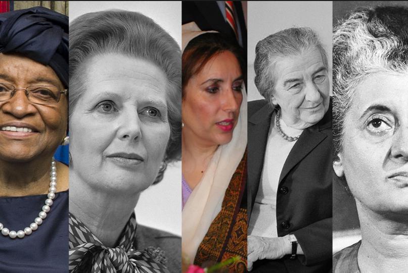 Femei mature care conduc lumea