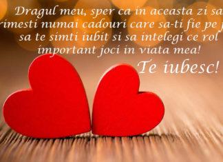 Mesaje de la mulți ani pentru iubit