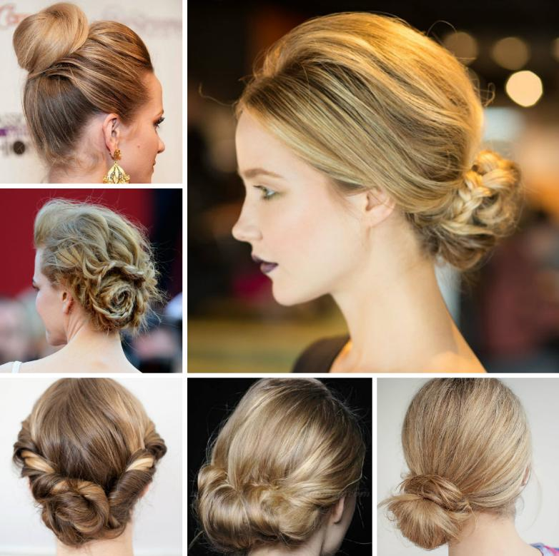 coafuri simple Updo