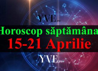 Horoscop saptamanal 15-21 Aprilie 2019
