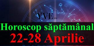 Horoscop saptamanal 22-28 Aprilie 2019