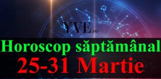 Horoscop saptamanal 25-31 Martie 2019
